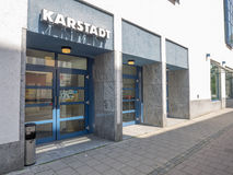 Karstadt entrance Royalty Free Stock Photo