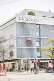 Karstadt MÃ ¼ nchner Freiheit 免版税库存照片