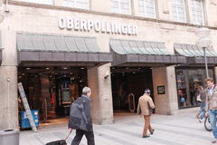 Karstadt Oberpollinger Stock Images