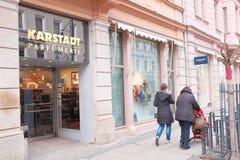 Karstadt Parfà ¼ merie 库存照片