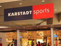 Karstadt sports Stock Images