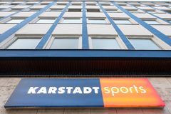 Karstadt sports Royalty Free Stock Photography