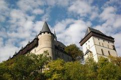 Karlstejn. Castle Karlstejn in central Bohemia. Czech rep Royalty Free Stock Photo