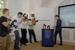 KARSTEN LAURITZEN_MINISTER TAXATION AND REVUNE Stock Photos