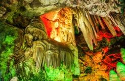 Karsthöhle Stockfoto