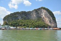 Karstic Bergen van de Baai Thailand van Phang Nga royalty-vrije stock afbeeldingen