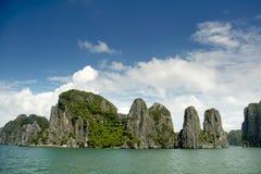 Karstic islands Stock Photos