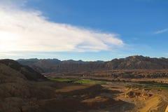 Karstlandform i Tibet Royaltyfri Bild