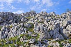 Karsttopographie (Shikoku-Karst) Lizenzfreies Stockbild