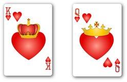 kart bawić się Obrazy Royalty Free