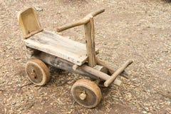 Kart de madeira fotografia de stock
