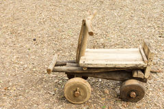 Kart de madera Fotos de archivo