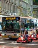 Kart de Mario sur le secteur de Shibuya à Tokyo, Japon photographie stock libre de droits