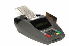 kart kredyta maszyna zdjęcie royalty free