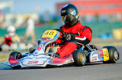 Kart pilot Stock Photos