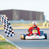 Kart pilot Royalty Free Stock Photo