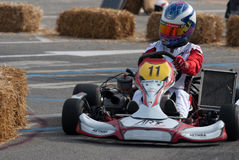 Kart pilot Stock Photography