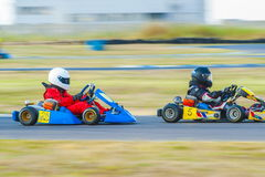 Kart pilots Stock Photo