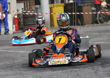 Kart race Royalty Free Stock Images