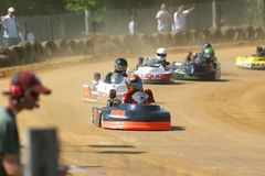 Kart Racing I stock photos