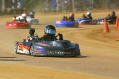 Kart Racing IV Royalty Free Stock Photos