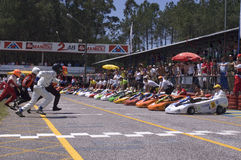 Kart start Royalty Free Stock Images