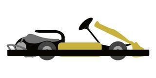 Isolated kart icon. Kart on a white background, Vector illustration Stock Photos