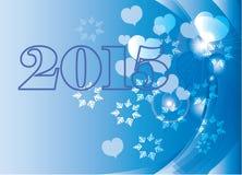 2015 karta Zdjęcia Royalty Free