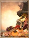 Karta dla Thankgiving Fotografia Stock