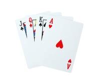 Karta do gry grzebak Zdjęcie Stock
