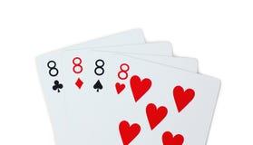 Karta do gry grzebak Fotografia Royalty Free