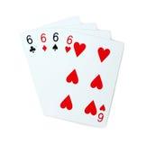 Karta do gry grzebak Zdjęcia Stock