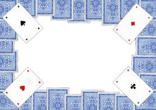 Karta do gry które dzwonią Piqued Zdjęcie Stock