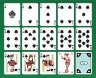 Karta do gry rydle royalty ilustracja
