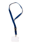 Karta Identyfikacyjna - odznaka z ścinek ścieżką Obrazy Royalty Free