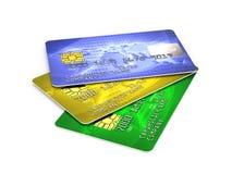 karta kredyt Zdjęcia Royalty Free