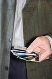 karta kredyt Zdjęcie Royalty Free