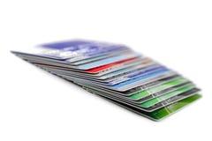 karta kredyt Obraz Stock