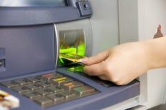karta kredyt Fotografia Stock