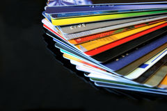 karta kredytu Zdjęcia Stock