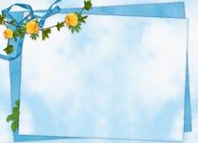 karta kwitnie wakacyjnych faborki Obrazy Royalty Free