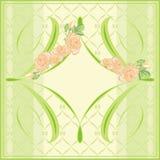 Pocztówka royalty ilustracja