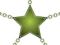 karta przykuwająca gwiazda ilustracja wektor