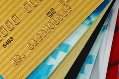 karta stack kredytu Fotografia Stock