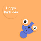 Karta urodziny Zdjęcie Stock