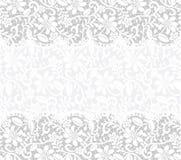 Karta z tkaniny koronkowym tłem Zdjęcia Stock