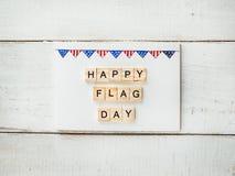 Karta z wzorem USA flaga zdjęcia royalty free