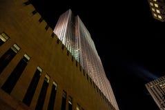 kartbok center manhattan nya rockefeller york Arkivfoton