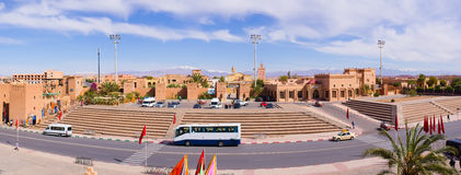 Kartbok Korporation studio i Ouarzazate, Marocko Royaltyfri Foto