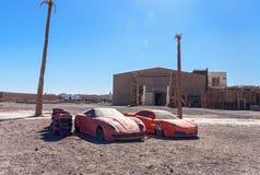 Kartbok Korporation studior Ouarzazate Royaltyfri Bild